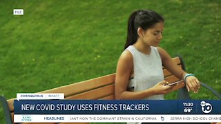 New COVID study uses fitness trackers