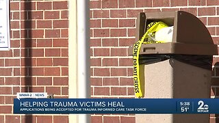 Baltimore City's Trauma Task Force accepting applications