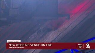 Firefighters battled blaze at Butler County wedding venue