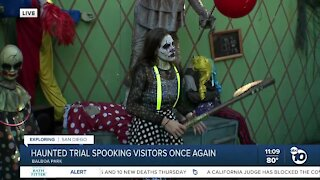 Megan Parry at The Haunted Trail
