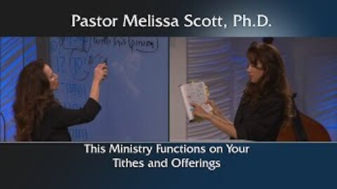This Ministry Functions on Your Tithes and Offerings