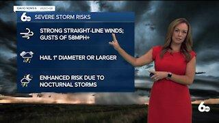 Rachel Garceau's Idaho News 6 forecast 8/5/21