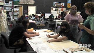 Pinellas high school makes costumes in house