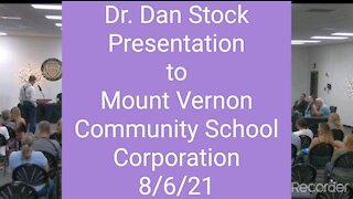 Dr. Dan Stock 8/6/2021 Better Audio