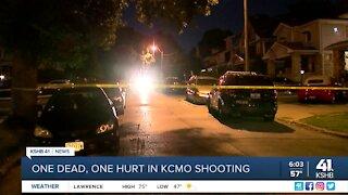 1 dead, 1 hurt in KCMO shooting