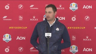 Golfers prepare for the Ryder Cup