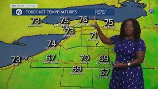 7 First Alert Forecast 6 p.m. Update, Saturday, August 28