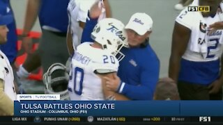 Tulsa scares Ohio State, falls 41-20