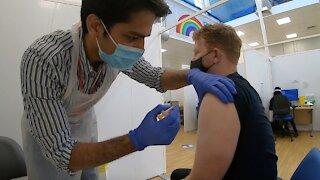 Vaccination Effort In U.K. Brings Relief