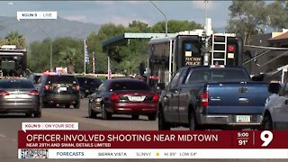 Tucson Police investigate officer-involved shooting near 29th, Swan 5p