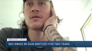 Red Wings re-sign Tyler Bertuzzi to two-year contract