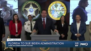 Florida suing Biden Administration over catch and release policy