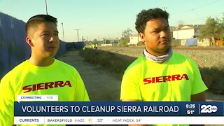 Local business volunteers to cleanup railway