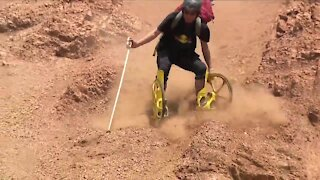 'Rolling down a mountain': Coloradan hoping new sport gains popularity