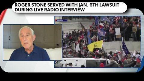 Roger Stone sued for January 6 Insurrection! * Sept 17, 2021