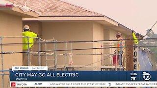 Encinitas could ban natural gas hookups from new homes