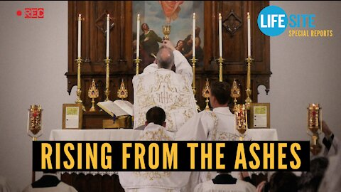 'A church rises from the ashes: Latin Mass returns to church abandoned by diocese in 1980s'
