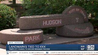 Landmarks tied to KKK up for possible renaming