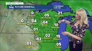 Saturday 7/31 pm forecast #2