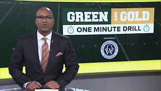 Green and Gold 1-Minute Drill: October 25