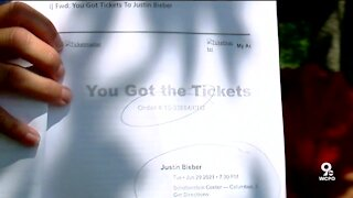 Concertgoers say tickets disappeared