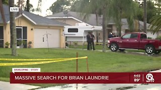 FBI agents execute search warrant at Florida home of Gabby Petito's fiancé, Brian Laundrie