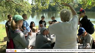PLCS sixth-graders take class to the great outdoors