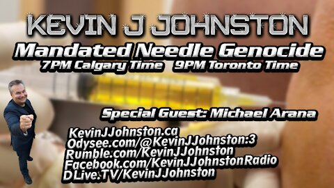 The GREAT CANADIAN NEEDLE GENOCIDE on the Kevin J. Johnston Show