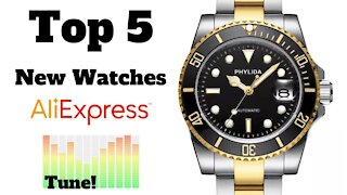 🏆 Top 5 NEW Watches on AliExpress Oct 2020