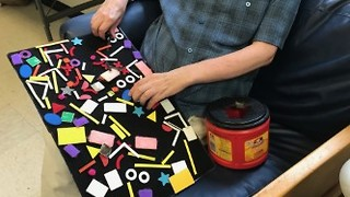 Velcro Fine-Motor Task for Individuals with Developmental Disabilities
