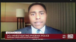 Valley civil rights attorney reacts to announcement of DOJ investigation into Phoenix police