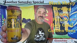 Black Sheep Brewings' Monty Pythons Holy Grail Golden Beer 4.25/5