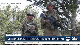 Local veteran reacts to situation in Afghanistan