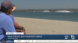 San Diego Bayfair returns to the waters