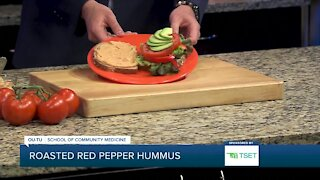 Shape Your Future Healthy Kitchen: Roasted Red Pepper Hummus