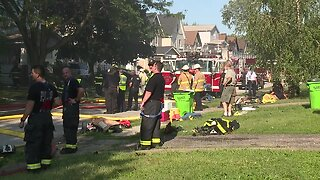 3 homes damaged by fire in Newburgh Heights