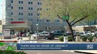 Delays in coronavirus testing in Arizona