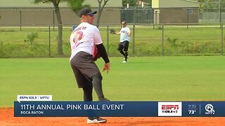 11th annual Pinkball Softball game