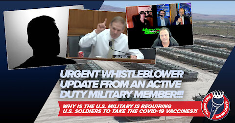 Jim Jordan Fights for First Responders + URGENT WHISTLEBLOWER UPDATE FROM ACTIVE DUTY MILITARY!!!