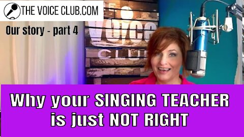 They killed my voice...again. How I confirmed what we've been taught as singers is way off