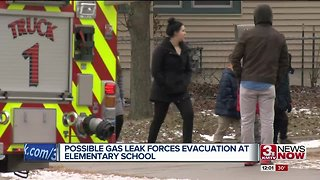 Possible gas leak forces evacuation of elementary school