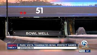 Park Vista teammates bowl perfect game 9/18