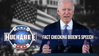 Fact Checking Biden's Speech | FOTM | Huckabee