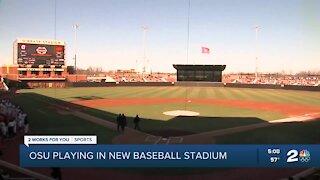 OSU playing in new baseball stadium