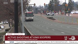 Active shooter situation at Boulder King Soopers