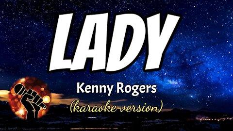 LADY - KENNY ROGERS (karaoke version)
