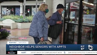 Neighbor helps seniors with vaccine appointments