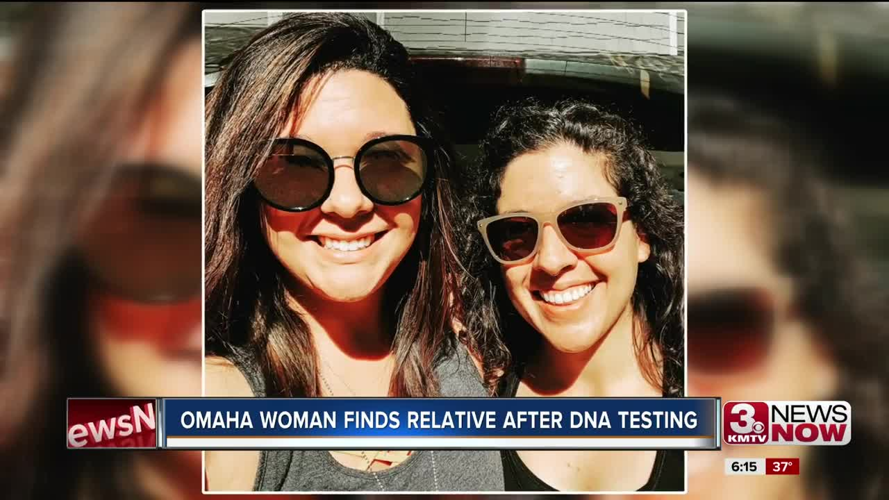 Omaha Woman Finds Half Sister Due to DNA Test