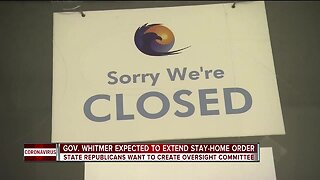 Gov. Whitmer expected to extend stay-at-home order