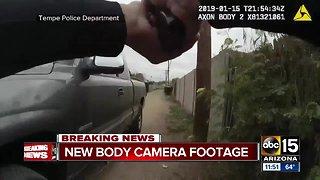Tempe police show media body camera video